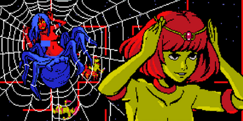 queens mars of spider lesbian