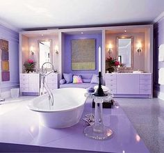 of images bathrooms purple
