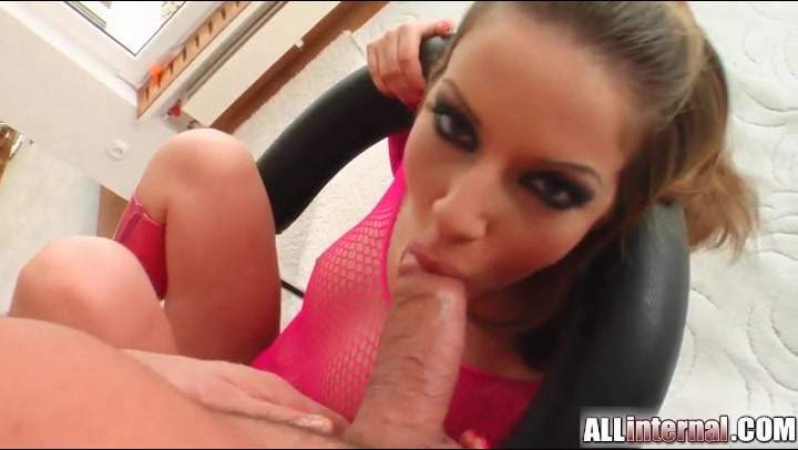 tube pussy red shaved blonde
