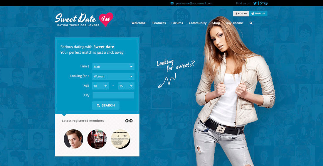 with website a dating wordpress build