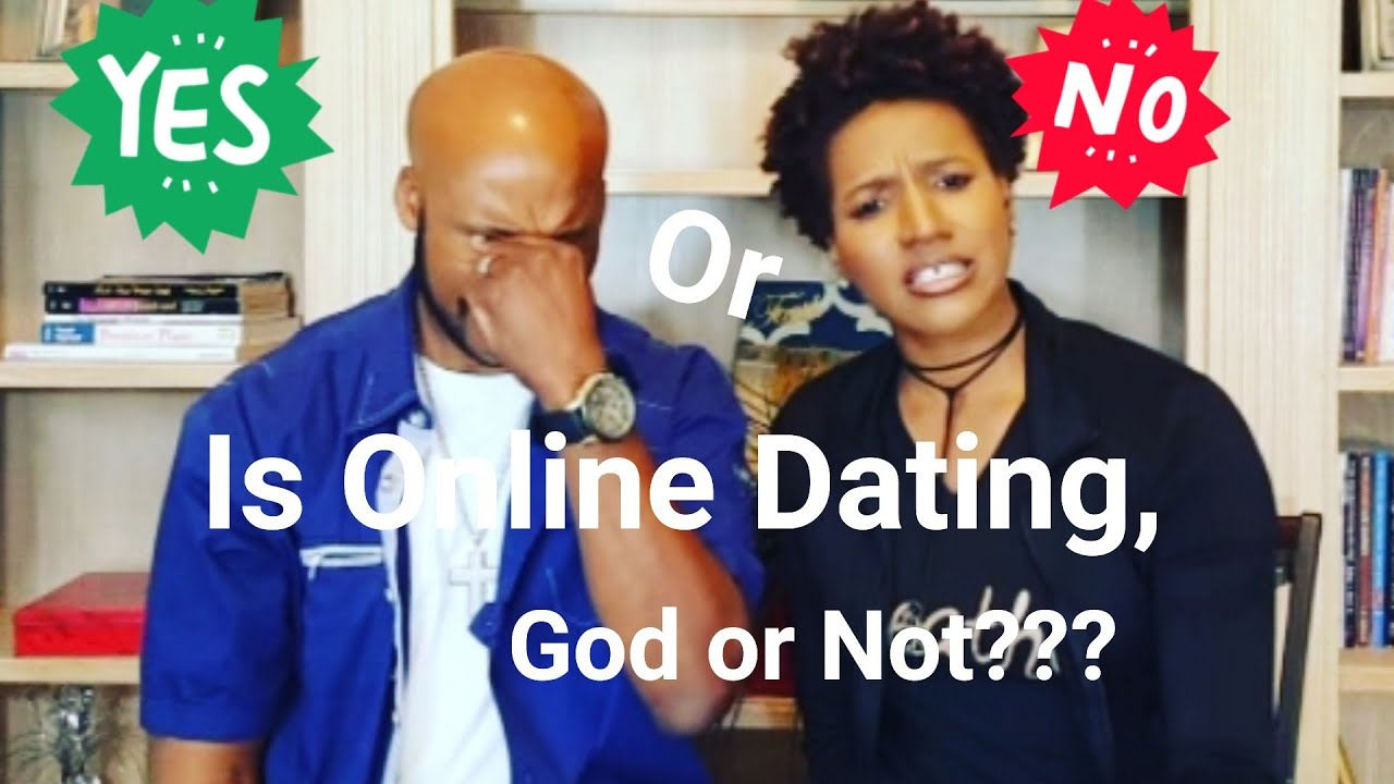 not trusting online is god dating